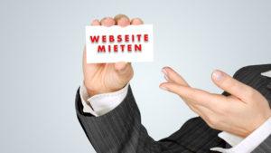 Webseite mieten