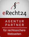erecht24 siegel agenturpartner rot Vogelmann Consulting - Internetagentur aus Gilching nähe München