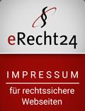 erecht24 siegel impressum rot Vogelmann Consulting - Internetagentur aus Gilching nähe München