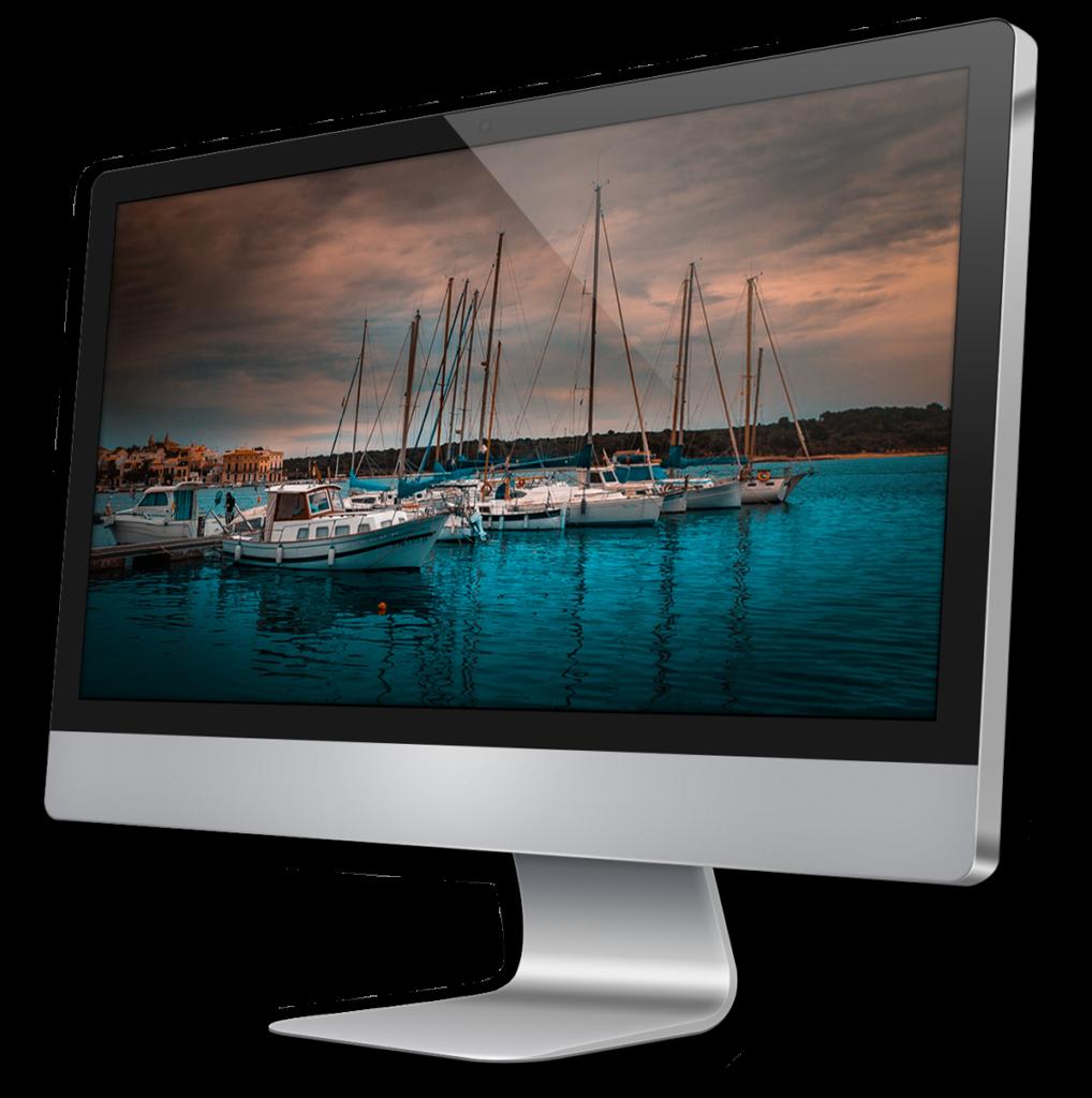 iMac Bildschirm Fotografie Vogelmann Consulting - Internetagentur aus Gilching nähe München