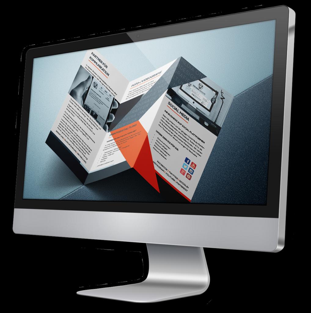 iMac Bildschirm Print Vogelmann Consulting - Internetagentur aus Gilching nähe München