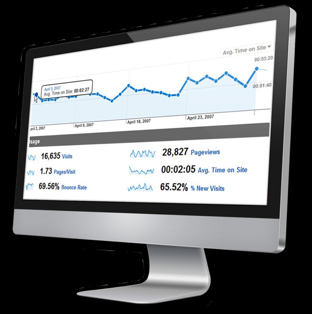 iMac Bildschirm SEO Vogelmann Consulting - Internetagentur aus Gilching nähe München
