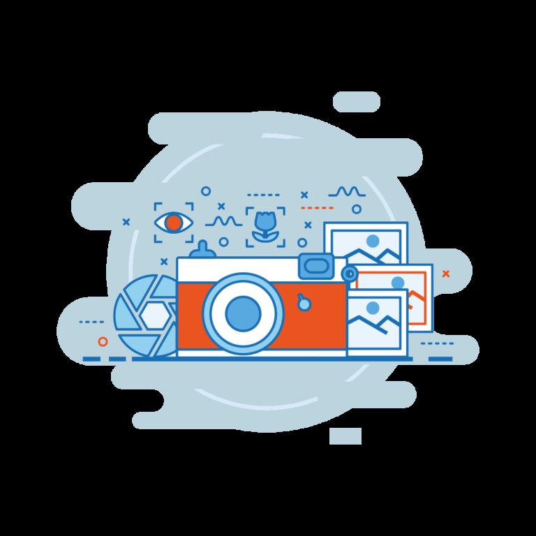 Fotografie und Videografie