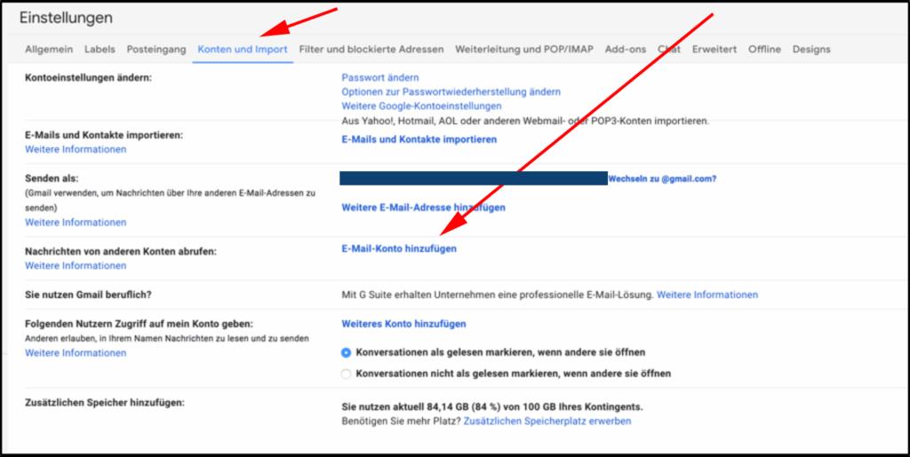 Drittanbieter Mail In Gmail Integrieren