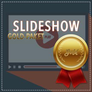 Slideshow Gold-Paket