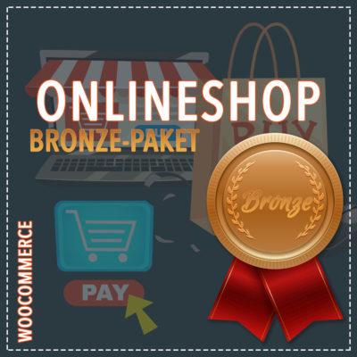 Onlineshop WooCommerce – Bronze Paket