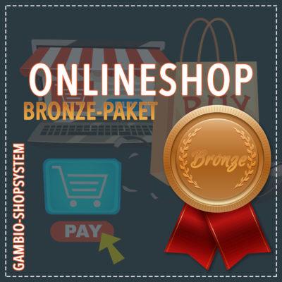 Onlineshop Gambio – Bronze Paket