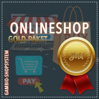 Onlineshop Gambio – Gold-Paket