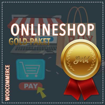 Onlineshop WooCommerce – Gold-Paket
