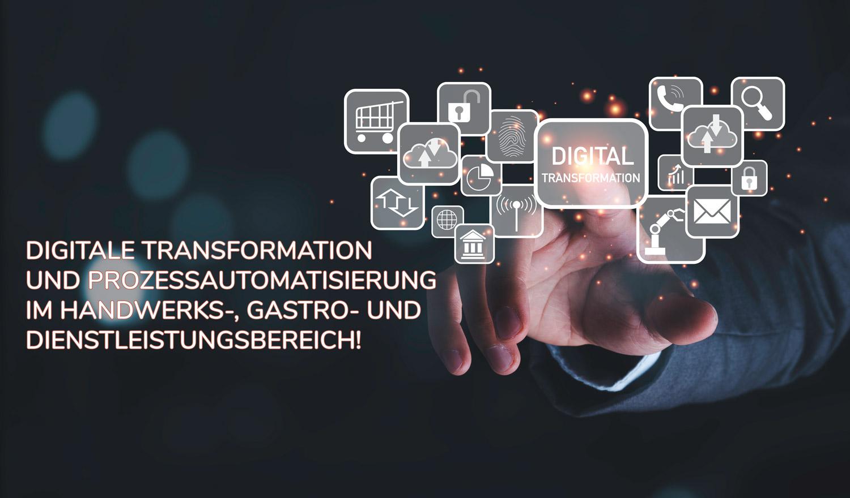 Read more about the article Digitale Transformation im Handwerk, Gastro und Dienstleistungbereich